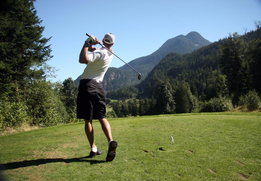 Golf on Killington mountain