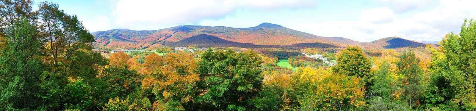 mountain view in Vermont