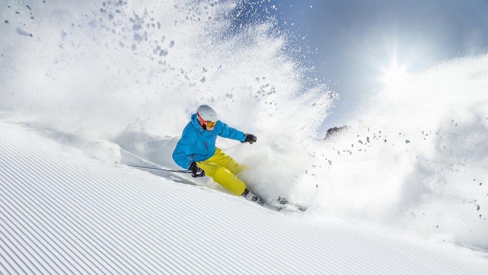 killington skier