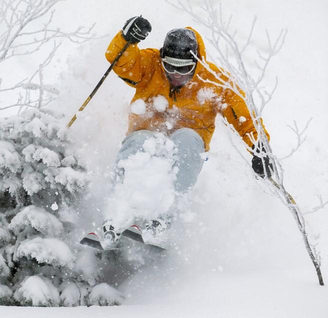 Skiing in Killington