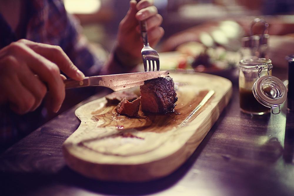 delicious steak near our Killington vacation rentals