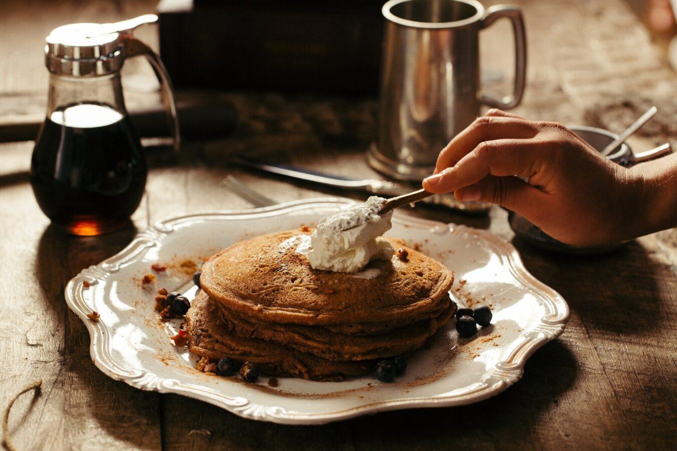 Classic Breakfast plate in Killington Vermont