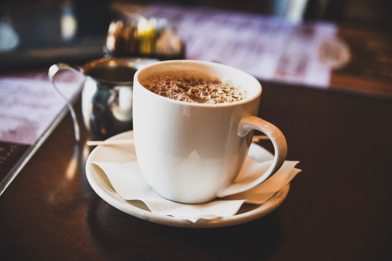 Killington coffee house coffee on the counter